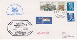 DDR 1991 Polarstern / Besuch Georg Forster Station Ca 30 III 91 Cape Town Cover (40325) - Poolshepen & Ijsbrekers