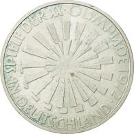 Monnaie, République Fédérale Allemande, 10 Mark, 1972, Hamburg, SUP, Argent - [ 7] 1949-…: BRD