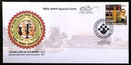 India 2017 All India Postal Chess Tournament Sports Game Special Cover # 6997 Inde Indien - Chess