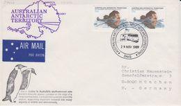 AAT 1989 Ca Davis 29 Nov 1989 Cover (40331) - Australisch Antarctisch Territorium (AAT)