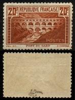 France N° 262B Dentelé 11 Neuf ** (MNH) Signé Calves/A.Brun - Cote + 2400 Euros - LUXE - France