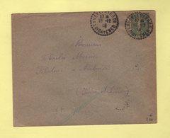 Yvoy Le Marron - Loir Et Cher - 15-12-1919 - Marcophilie (Lettres)