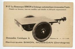 Mussidan Publicité Remorque Simon - Mussidan