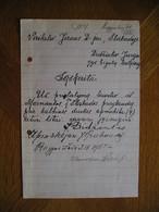 LITHUANIA Bill Laivelis Is Marviankos I Slabada Jurgis Didziulis Kaunas 1925 - Invoices & Commercial Documents