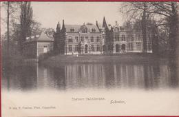 Schoten Schooten Chateau Calixberghe Kasteel Hoelen Cappellen Kapellen 274 Geanimeerd (In Goede Staat) - Schoten