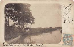 26 - DROME / Pierrelatte - 261338 - Carte Photo - Les Bords Du Canal - France