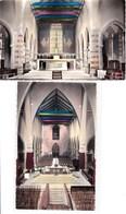 29 PLOUGASTEL DAOULAS Eglise Paroissiale Lot De 2 Cartes - Plougastel-Daoulas
