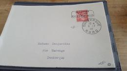 LOT 413025 TIMBRE DE FRANCE OBLITERE DUNKERQUE SIGNE ROUMET - Liberation
