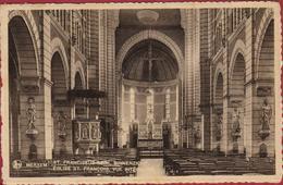 Merksem Merxem St. Sint Franciscus Kerk Binnenzicht Eglise St. Francois Vue Interieure ZELDZAAM - Antwerpen
