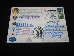 Australia 2002 Qantas-flight Card__(L-23338) - Covers & Documents
