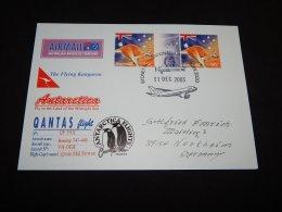 Australia 2003 The Flying Kangaroo Card__(L-23335) - 2000-09 Elizabeth II