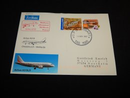 Australia 2007 Airbus Christchurch-McMurdo Air Mail Cover__(L-22634) - Airmail