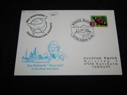 Australia 2008 Sea Shepherds Steve Irwin Card__(L-23372) - 2000-09 Elizabeth II