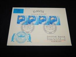 Australia 2010 Davis Air Mail Cover To Germany__(L-23245) - Briefe U. Dokumente