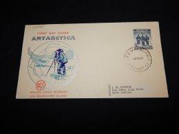 Australian Antarctic Territory 1961 Macquarie Island Cover To South Australia__(L-22980) - Australian Antarctic Territory (AAT)