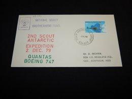 Australian Antarctic Territory 1979 National Scout Brotherhood Fund Cover__(L-23421) - Australian Antarctic Territory (AAT)