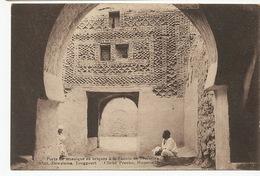 Temacine Porte De Mosaique En Briques Zaouia Coll Dewamme Touggourt Cliché Prouho Hussein Dey - Algérie