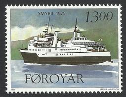 Faroe Islands, 13 Kr. 1999, Sc # 355, Mi # 351, MNH. - Faroe Islands