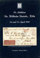 91. Derichs Auktion 1889 - Auktionskataloge