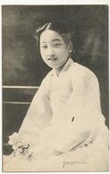 Ryukinto Beautiful Woman Close Up Smiling - Korea, South