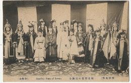 59 Dancing Dress Of Kee San Dancers  Young Beautiful Girls - Korea (Zuid)