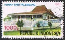 Indonesia SG2004 1991 Tourism 1000r Good/fine Used [17/16294/4D] - Indonesia