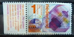 2018 Netherlands Bankbiljet+tab Used/gebruikt/oblitere - 2013-... (Willem-Alexander)