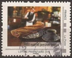 """FRANCE 2009 Collector """" Paris """" : Petit Noir Et Jambon Beurre -  Autoadhésif - France"""