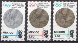 Mexico MNH Set - Summer 1980: Moscow