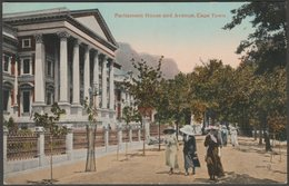 Parliament House And Avenue, Cape Town, Cape Province, C.1905-10 - Valentine's Postcard - South Africa