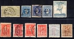 Grèce Petite Collection De Bonnes Valeurs Neufs Et Oblitérés 1896/1939. B/TB. A Saisir! - Sammlungen