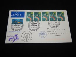 Australian Antarctic Territory 1996 Davis RSV Aurora Australis Cover__(L-23164) - Territoire Antarctique Australien (AAT)