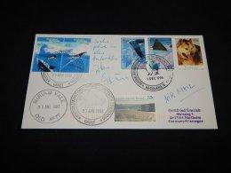 Australian Antarctic Territory 1996 Macquarie Island Miriam Vale Signature Cover__(L-22791) - Territoire Antarctique Australien (AAT)