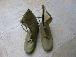 Legion-etrangere-para-armee-francaise-chaussure-de-brousse Pataugas - Equipement