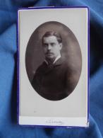 Photo CDV  Luzzatto à Dunkerque  Portrait Jeune Homme (Louis Loosdregt) - CA 1875 - L389F - Anciennes (Av. 1900)