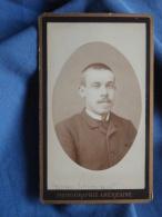 Photo CDV  Ebert à Dunkerque  Portrait Homme (Georges Loosdregt) - CA 1880 - L389F - Photos