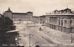 CARTOLINA - POSTCARD - TORINO - PIAZZA CASTELLO - PALAZZO REALE E PALAZZO MADAMA - Places
