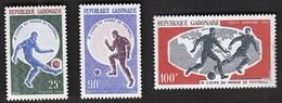 Gabon / Football, Soccer / World Cup England 1966 / Michel 247-249 - 1966 – England