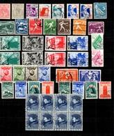 Pays-Bas Belle Petite Collection D'anciens Neufs * Et Oblitérés 1926/1936. Bonnes Valeurs. B/TB. A Saisir! - Niederlande