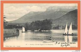 A487 / 435 74 - ANNECY Ile Des Cygnes Et Le Parmelan - France