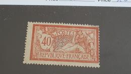 LOT 413193 TIMBRE DE FRANCE NEUF* N°119 VALEUR 16 EUROS - France