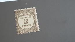 LOT 413212 TIMBRE DE FRANCE NEUF* N°62 VALEUR 180 EUROS - Postage Due