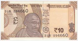 India NEW - 10 Rupees 2018 - UNC - India