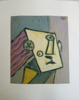 Hommage To The Picasso 1980, By Painter Graphic Artist Rudi Goga, Montenegro - Huiles