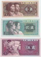 China SET - 1 2 5 Jiao 1980 - UNC - Cina