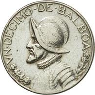 Monnaie, Panama, 1/10 Balboa, 1973, TTB+, Copper-Nickel Clad Copper, KM:10 - Panama