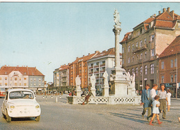 SLOVENIA - Maribor - Glavni Trg - Automotive - Fiat 750 - Slovenia