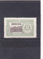 Bhopal Neuf  1936-39   Timbre Service N° 25   Tp Non émis Surchargé - Bhopal