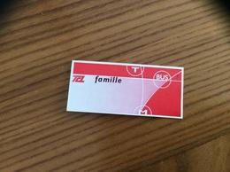 """Ticket De Transport * (Bus, Métro, Tramway) TCL """"famille"""" LYON (69) - Bus"""