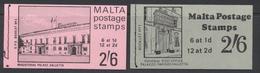 Malte - Malta 1970  Carnet - Booklet Magisterial Palace And Palazzo Parisio   *** MNH - Malte